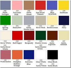 rustoleum spray paint color chart home painting