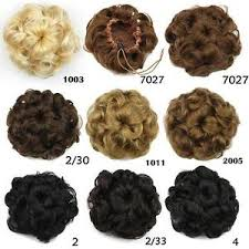 bun scrunchie women new synthetic clip hair extension bun curly hairpiece
