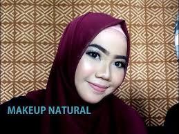 tutorial makeup natural wisuda tutorial makeup natural wisuda kondangan party youtube