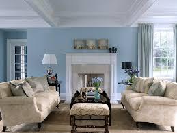 Blue Living Room Decor Sky Blue And White Scheme Color Ideas For Living Room Decorating