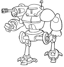 awesome coloring pages robot cool ideas 2991 unknown