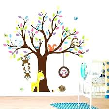 stickers animaux chambre bébé stickers enfant bebe chambre bebe arbre stickers stickers muraux
