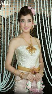 thai wedding dress pin by pudit on ช ดไทย thai dress traditional and asian