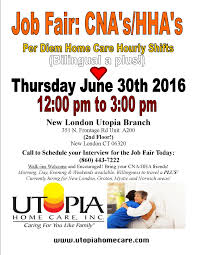 N Home Health Care by Certified Nursing Assistant Open House New London Ct