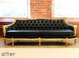 Recovering A Settee Remodelaholic 28 Ways To Bring New Life To An Old Sofa