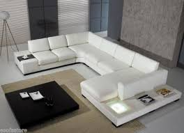 Free Sectional Sofa by Vig Furniture T35 Bonded Leather Sectional Sofa Set With Light