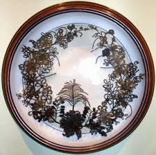 hair wreath the everhart museum of history science mourning