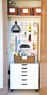 how to organize a small utility closet in 5 simple steps homeyou