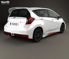 nissan note 2005 white nissan note e power nismo 2016 3d model hum3d