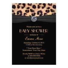 leopard print invitations u0026 announcements zazzle