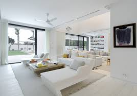 Bright Living Room Colors Contemporary Living Room In Bright White Interior Style Living
