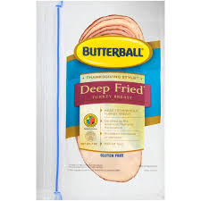 butterball fried turkey butterball thanksgiving style fried turkey breast 7 oz from