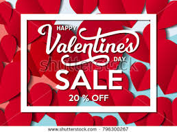 s day sales valentines day sale banner free vector stock