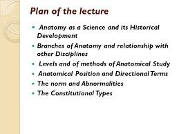 Directional Terms Human Anatomy Human Anatomy As A Science Ppt Video Online Download