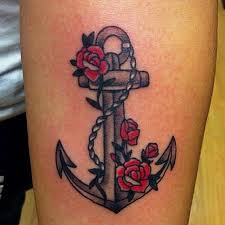 50 best anchor tattoos collection