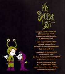 Halloween Wedding Sayings The One Who Invented Trick Or Treat By Shel Silverstein Fun