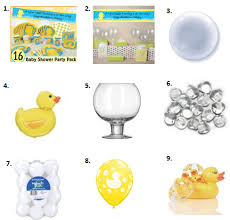 Rubber Ducky Baby Shower Decorations Ducky Baby Shower Ideas Ducky Baby Showers Duck Baby Showers