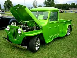 willys jeep truck green 1950 willys jeep pickup mitch prater flickr