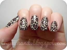 nails design leopard beautify themselves with sweet nails