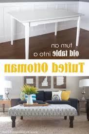Diy Tufted Ottoman Diy Tufted Modern Wood Coffee Table Coffee Table Ottoman Leather