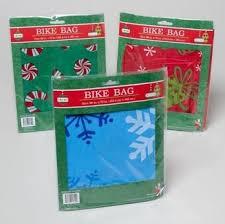 christmas wrap bags bike gift wrap bag christmas bicycle gift wrap