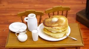 cuisine pancake mini food pancake 食べれるミニチュア ホットケーキ