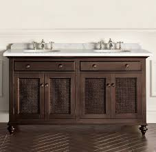British Cane Traditional Bathroom Vanities From Restoration - Bathroom vanities with tops restoration hardware