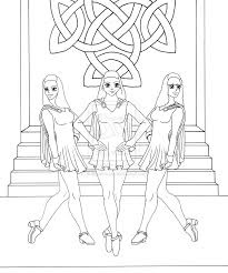 picture irish dance coloring pages 96 for line drawings with irish