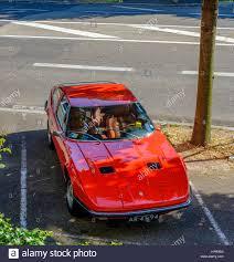 red maserati red maserati indy italian sports car tipo am 116 2 door 4