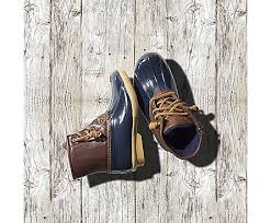 womens sperry duck boots size 11 big kid s saltwater duck boot big kid size 10 5 up sperry