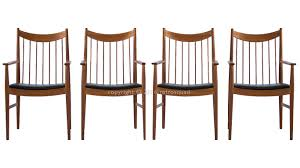 buy 1 u2013 4 teak captains dining chairs designed by arne vodder for