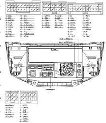 100 lexus radio wiring diagram jeep car radio stereo audio