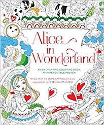 alice wonderland coloring book fabiana attanasio
