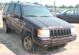 wrecked jeep grand cherokee 1996 jeep grand cherokee limited suv item i8166 sold se