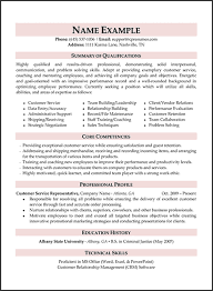 Free Sample Resume For Customer Service Representative Download Sample Resume Skills For Customer Service