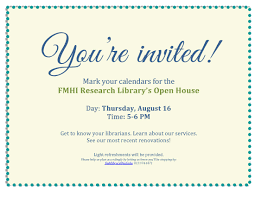 open house invitations fmhi research library s open house florida mental health