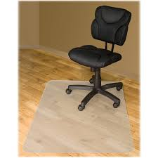 Chair Casters For Laminate Floors Enchanting Rectangle White Polycarbonate Desk Chair Floor Mats
