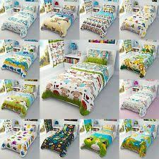 Cot Bed Duvet Cover Boys Dinosaurs Nursery Bedding Sets Ebay