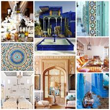 Mood Board Moroccan Style In Interior Design Modern Home Decor - Interior design moroccan style