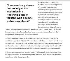 tenure written unwritten diversity and the hidden truths of tenure