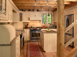 log home kitchen ideas maine lakeside retreat rustic kitchen portland maine by