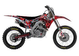 honda motocross bike bikes fully custom mx graphics decal mx dirt bike number plate