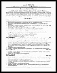 Resume Samples Human Resources by Resume Property Management Resume