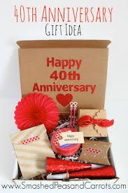 40 year anniversary gift 40 year wedding anniversary gift personalised wedding anniversary