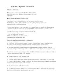 curriculum vitae sles for experienced accountants oneonta resume objective for general labor