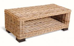 white wicker side table wicker coffee tables writehookstudio com