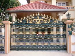 western metal gate entrances images of modern homes iron main with