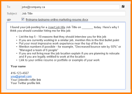 Subject Line For Resume Resume Email Subject Marketing Assistant Cv Example Icover Org Uk