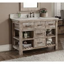 Rustic Bathrooms Rustic Bathroom Vanity Rustic Bathroom Vanity Using Metal Tubs