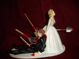 divorce cake toppers till attrition does us part